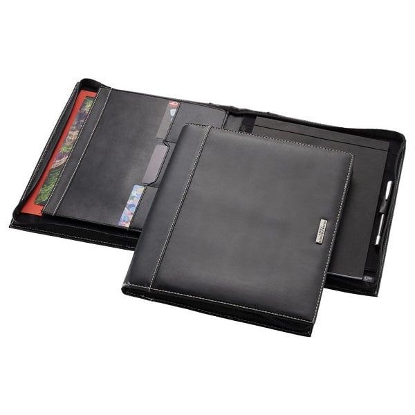 STFO051-A4-Zipper-Leather-Portfolio