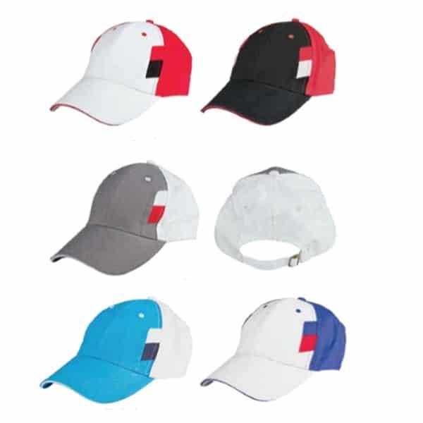 ATCP020-Baseball-6-Panel-Cotton-Brush-Cap