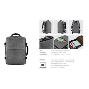 BGBP038 – BAGMAN Executive Laptop Backpack