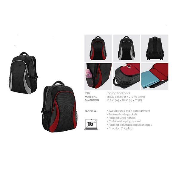 BGBP039 – BAGMAN Laptop Backpack