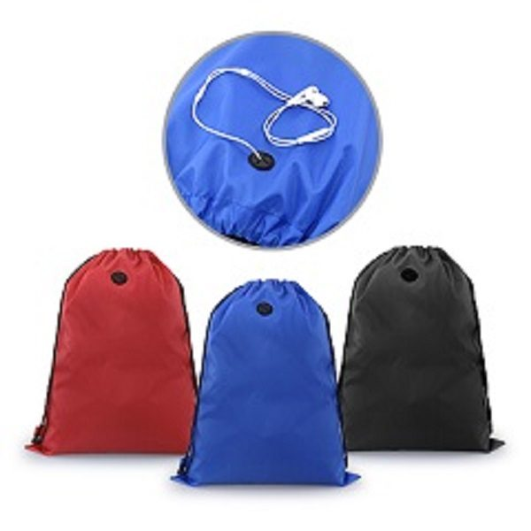 BGDS012 – Drawstring Bag With Ear Pieces Eyelet