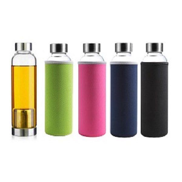 DWBO043 – 380ml Glass Bottle with Tea Brewer