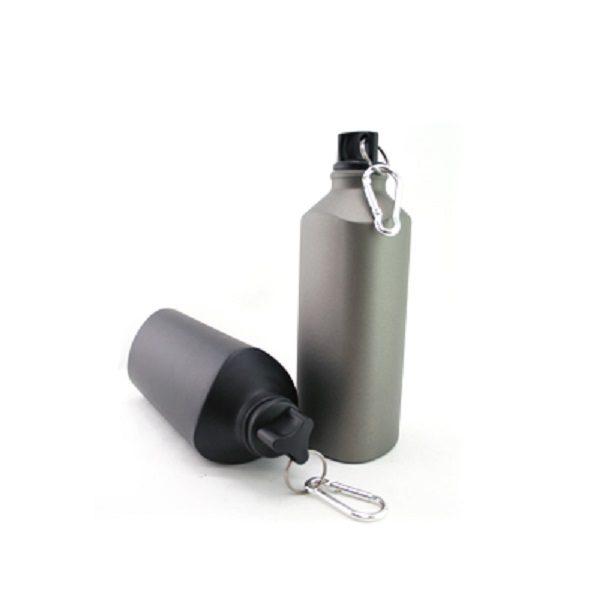 DWFT003 – 600ml BPA Free Aluminum Twist Bottle With Carabiner