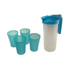 DWFT011 – Plastic Pitcher with 4 cups (BPA Free)