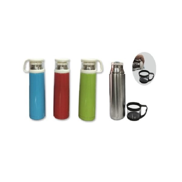 DWFT043 – 500ml Stainless Steel Vaccum Flask with Cup Lid