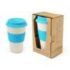DWMU010 – Bamboo Fibre Mug with Lid & Sleeve