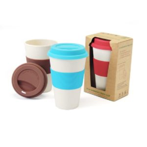 DWMU010 – Bamboo Fibre Mug with Lid & Sleeve