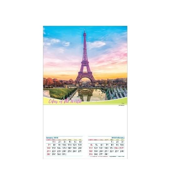 LFCL031 – (6 Sheets) Various Designs of Wall Calendar