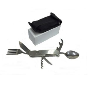 LFCS004 – Stainless Steel Multi Tools with Fork & Spoon