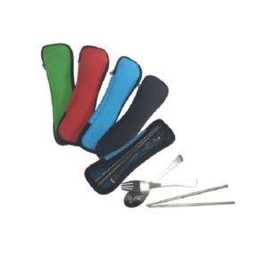 LFCS008 – Cutlery Set in Neoprene Pouch