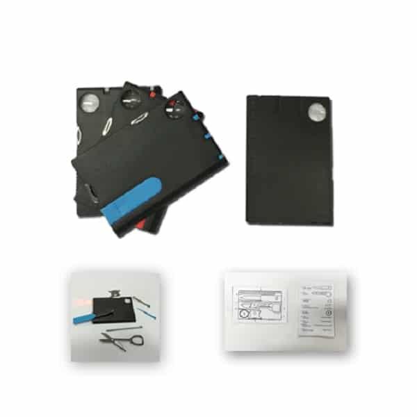 LFMT009 – 9in1 Plastic Card Tool Set