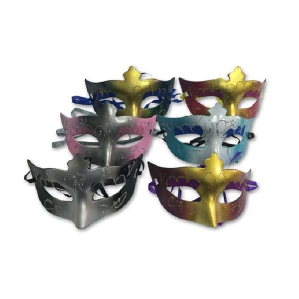 LFPW005 – Party Mask With Assorted Colors
