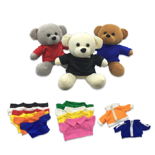 LFSI024 – Teddy Bear w/ Round Neck Tee / Polo Tee / Jacket