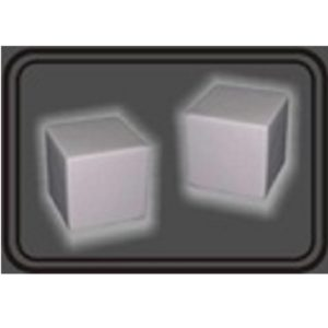 LFST018 – White Square Stress Ball