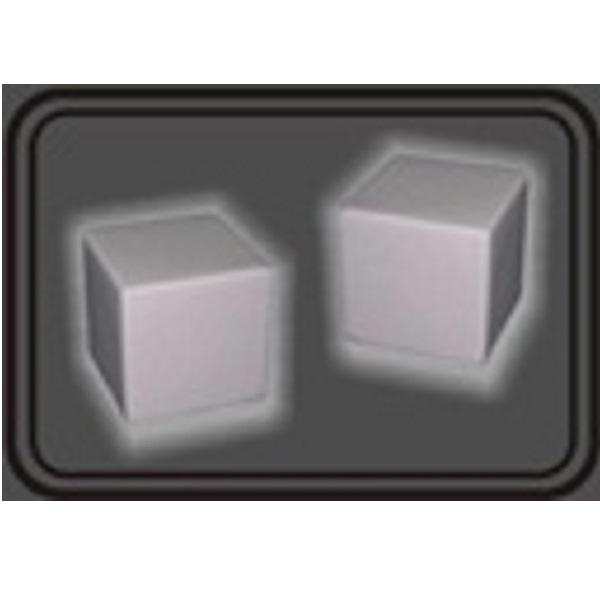 LFST018 – White Square Stress Ball