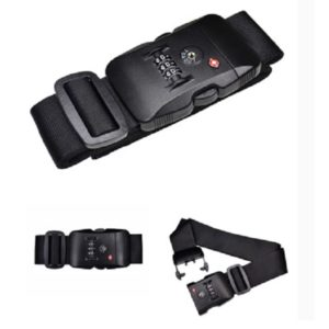 LFTL017 - 3-Dial Luggage Strap with Combination Lock
