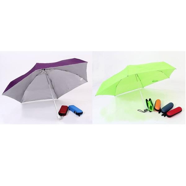 LFUM023 – 21inch UV foldable umbrella with casing