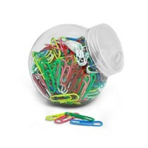 STCL006 – Coloured Paper Clip in a Jar