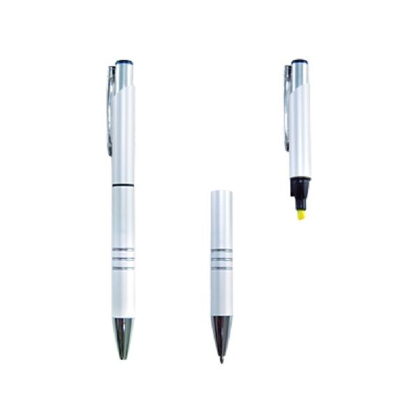 WIHL001 - Ball Pen with Highlighter