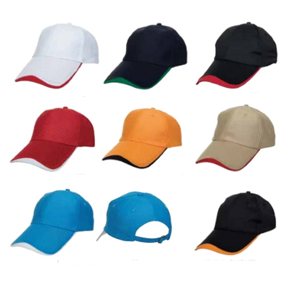 ATCP016 – Baseball 6 Panel Cap (Quick Dry)