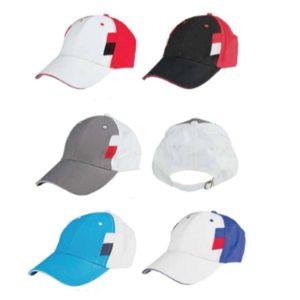 ATCP020 – Baseball 6 Panel Cotton Brush Cap