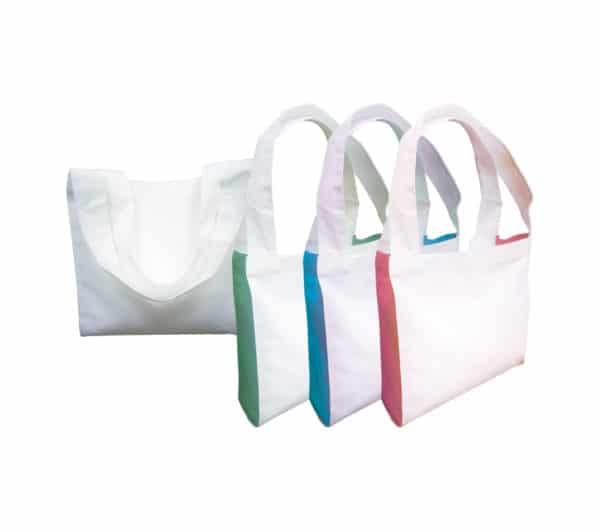 BGTS062 – 10oz 2-Tone Cotton Canvas Tote Bag