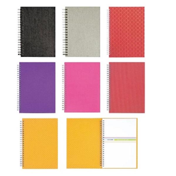 STNB011 – Memo Wire-O A5 Note Book