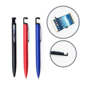 WIOT041 - Aluminium Ball Pen with Phone Holder