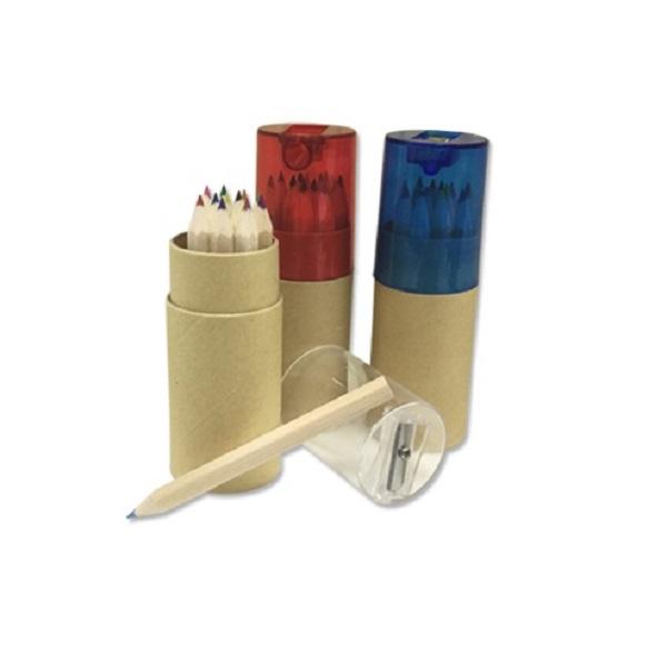 WIST004 - 9cm Color Pencil cw Sharpener