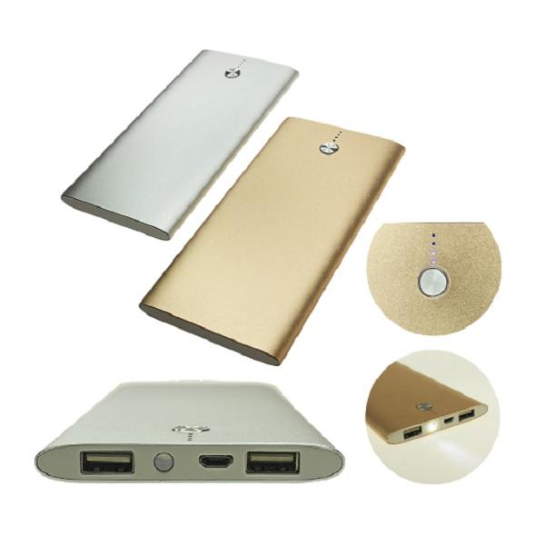 ITPB045 – 10,000 mAh Powerbank with 2 USB Ports and Flashlight