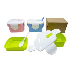 LFLB020 – 2-Tier Lunch Box with spoon