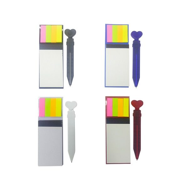 STMN017 - Magnetic Notepad with post-it and magnetic pen