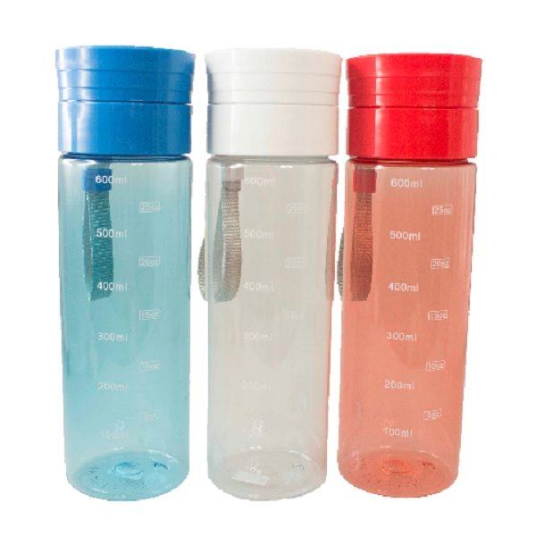 DWBO124 – 600ml Tritan Bottle with Carry Strap