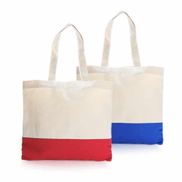 BGTS068 – Two Tone Canvas Tote Bag