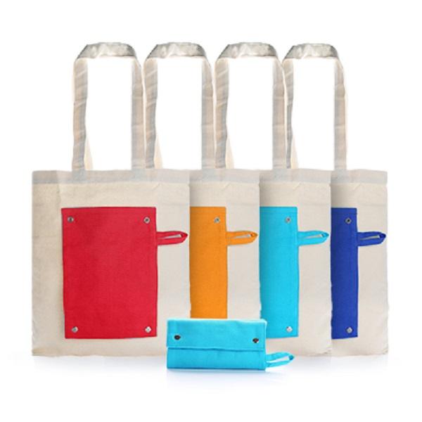 BGTS069 – Foldable Canvas Tote Bag