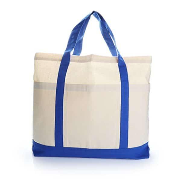 BGTS070 – Two Tone Cotton Tote Bag