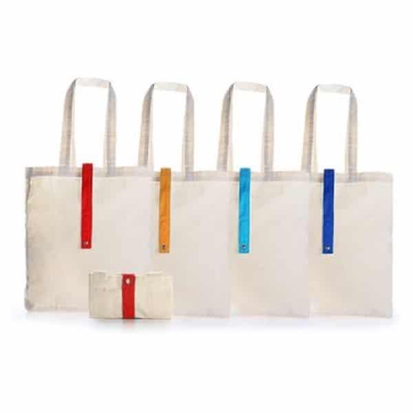 BGTS072 – Foldable Cotton Tote Bag