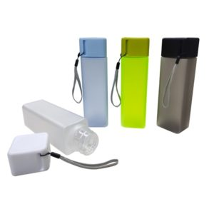 DWBO132 – 450ml Square Frosty BPA Free Water Bottle