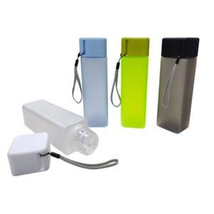 DWBO132 – 450ml Square Frosty BPA Free Water Bottle
