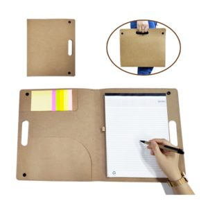 STFO050 – Recycled Conference Folder with notepad and pen