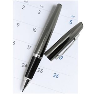 WIMT089 - Roller Metal Pen With Black Box