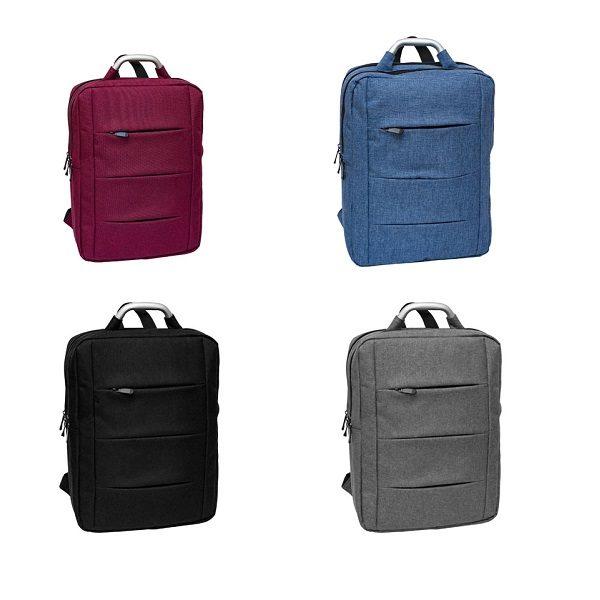 BGBP094 – 2 Tone Nylon Laptop Backpack