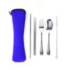 LFCS017 – Stainless Steel 4 pcs cutlery set with pouch
