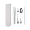 LFCS018 – Stainless Steel 4 pcs cutlery set in Wheat Case