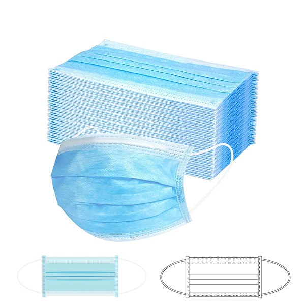 LFOT235 – disposable 3-ply face mask ( box of 50 pieces)
