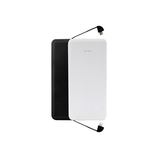 ITPB075 -10000mAh Power Bank with attached cables