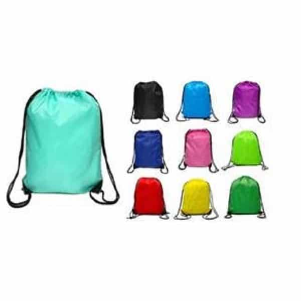 BGDS023 - 210D Water-Resistant Drawstring Backpack