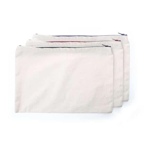 STSP014 – A4 Canvas zipper Pouch