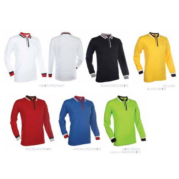 ATPT044 – Polo shirt long sleeve