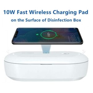 LFOT254 – Phone or device sterilizer with wireless 3.0 charging